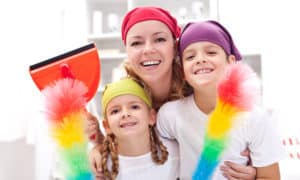 How to Involve Kids in Housework