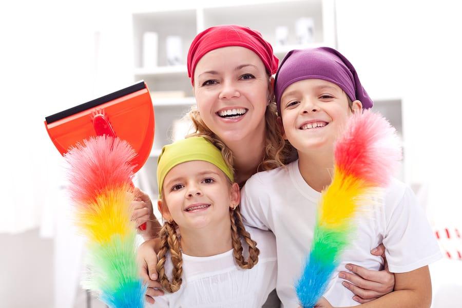 involve kids in housework