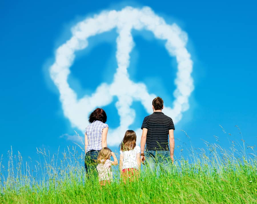 raising kids to be peaceful