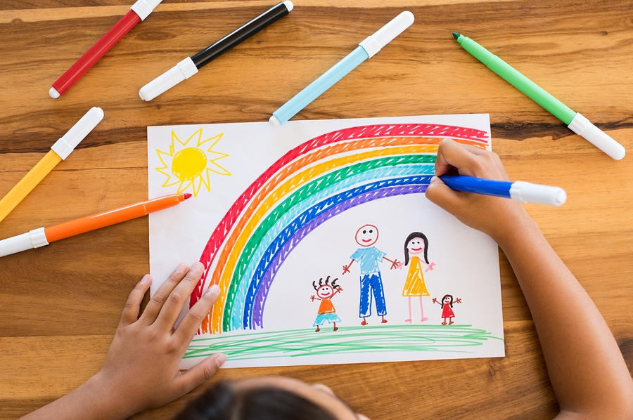 Saving Memories What To Do With Your Kids Artwork Reality Moms